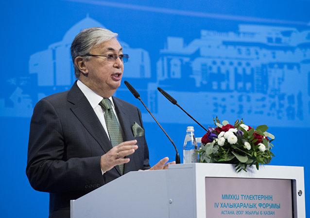 Kasim-Zhomat Tokáev, presidente interino de Kazajistán