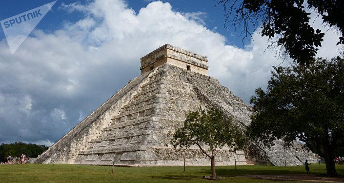 El sitio arqueológico de Chichen Itzá, en Yucatán, México