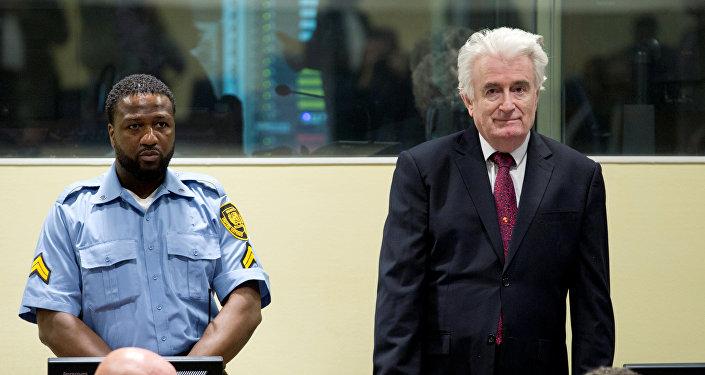 Radovan Karadzic, exdirigente serbobosnio