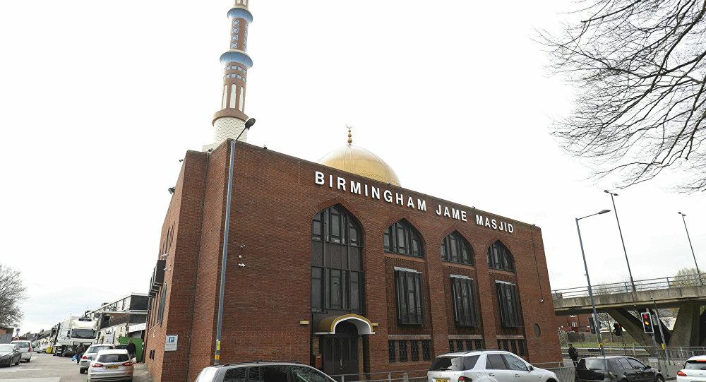 Una mezquita en Birmingham, el Reino Unido