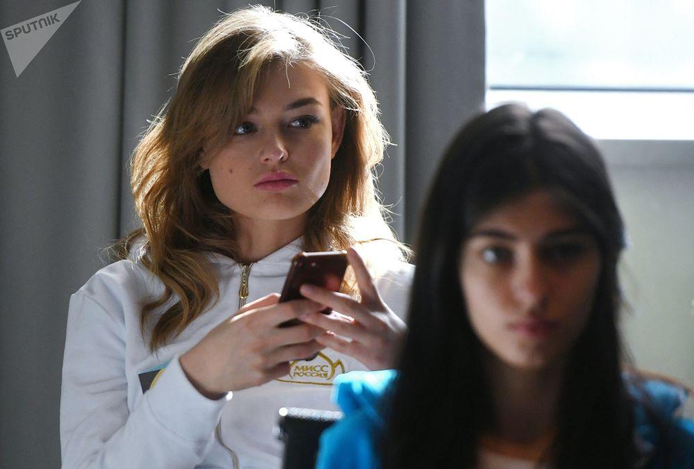 Un bonito inicio: las participantes del concurso 'Miss Rusia 2019'