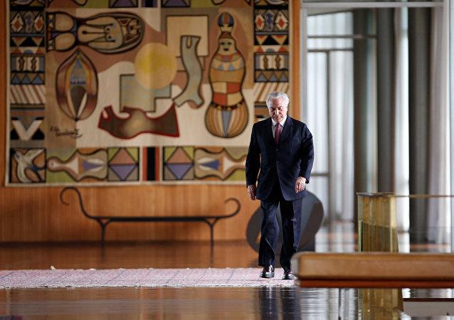 Michel Temer, expresidente de Brasil (archivo)