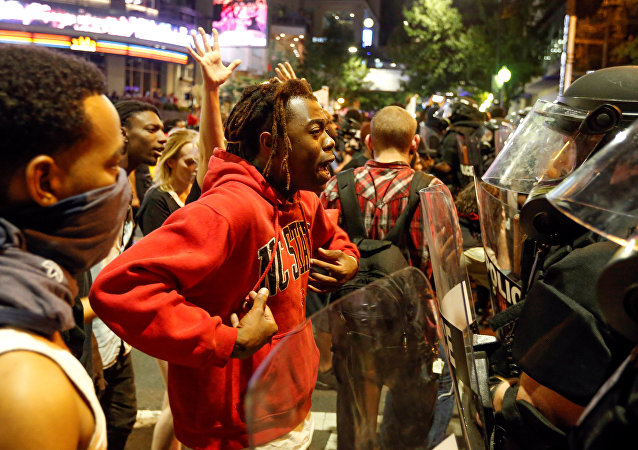 Protesta contra la violencia policial en EEUU (Archivo)