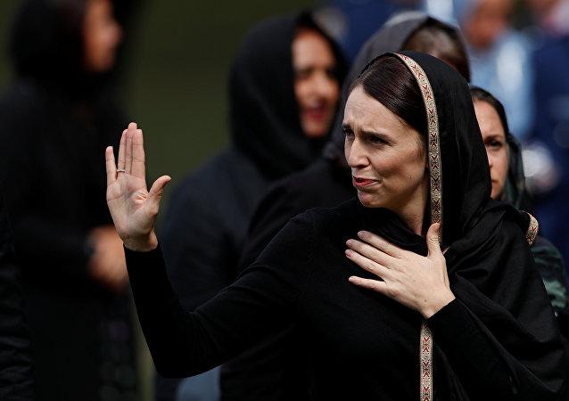 Jacinda Ardern, la primera ministra de Nueva Zelanda