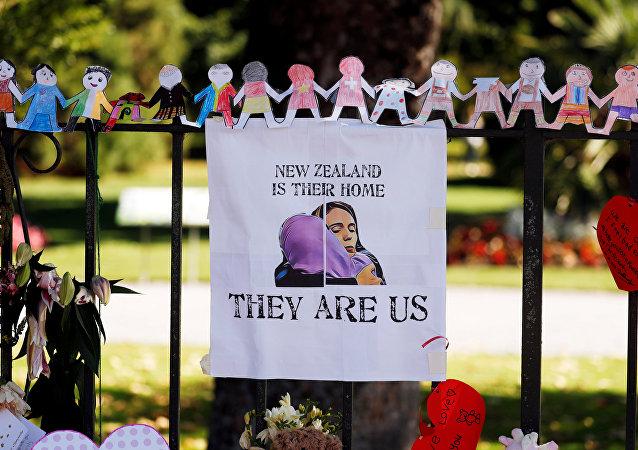 El homenaje a las víctimas del tiroteo en Chistchurch, Nueva Zelanda
