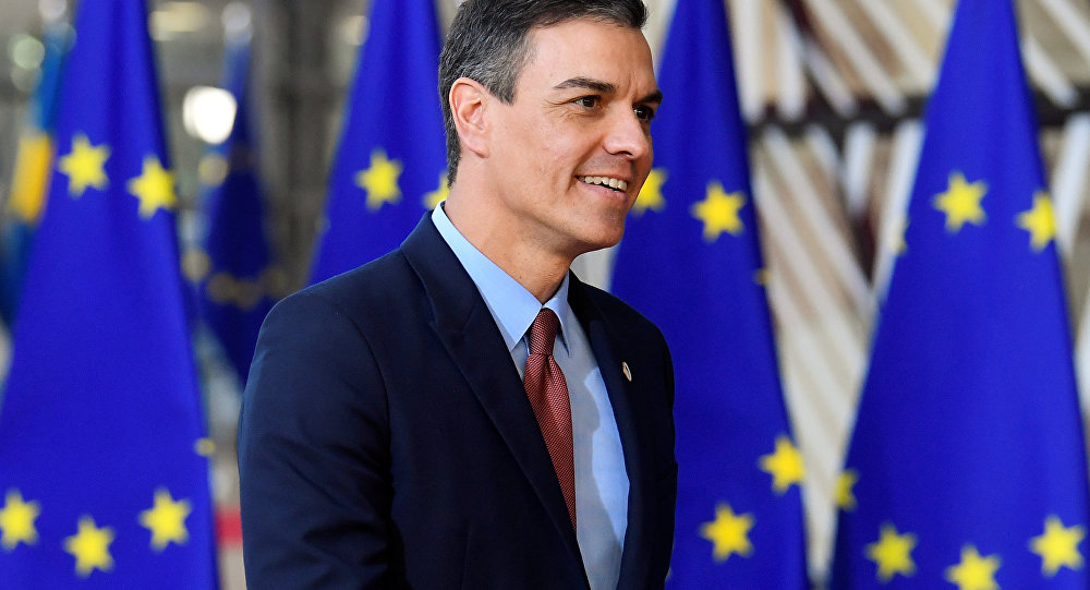 Pedro Sánchez, presidente del Gobierno español