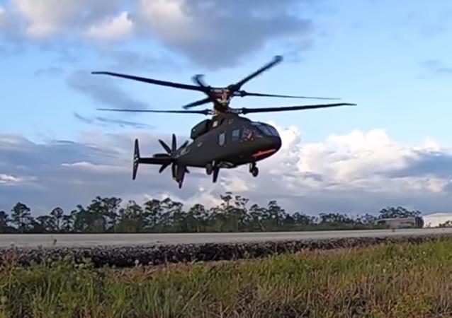 El helicóptero Sikorsky-Boeing SB-1 Defiant