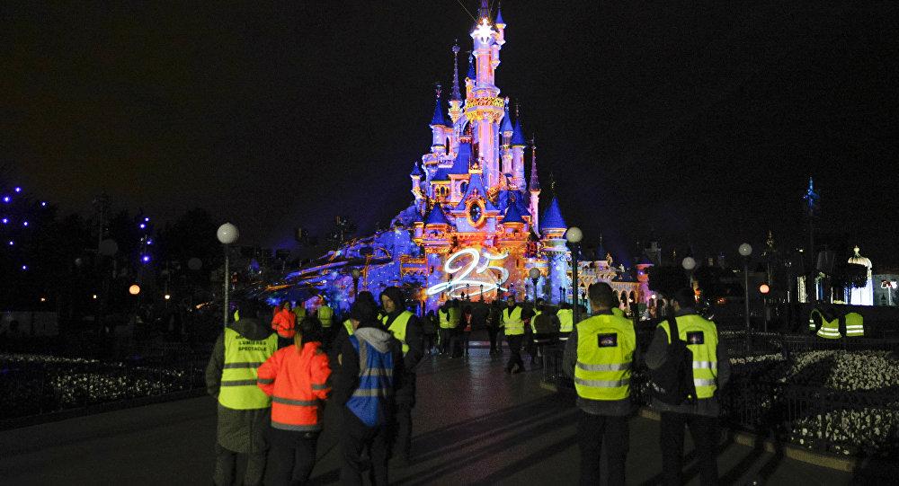 El parque temático Disneyland de París (archivo)