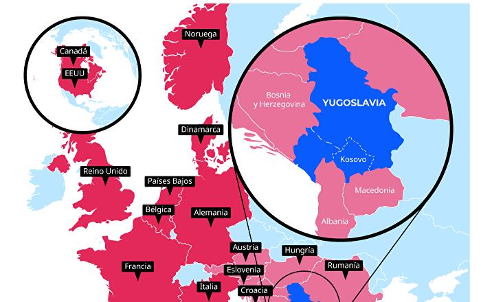 Operación militar de la OTAN contra Yugoslavia: descubre la historia del conflicto
