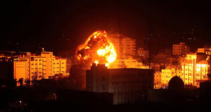 Ataque israelí en Franja de Gaza