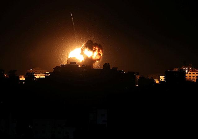 Israel ataca la Franja de Gaza