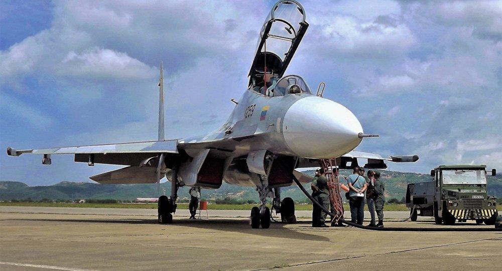 Un Su-30MKV de las FFAA venezolanas