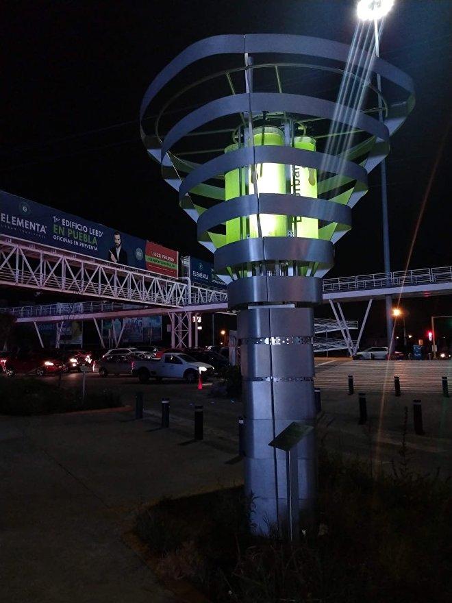 Biourban surgió en México, un país cuyas ciudades se enfrentan al desafío de reducir la intoxicación del aire