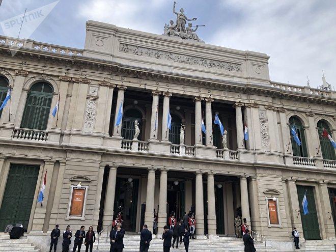 El Teatro San Martín de Córdoba en la apertura del Congreso Internacional de la Lengua Española