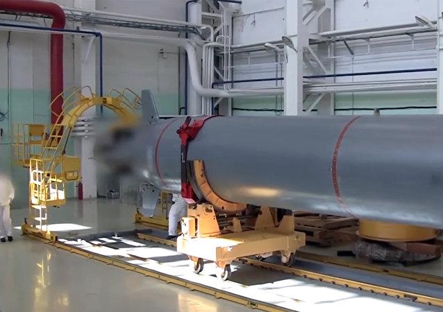 Poseidon, dron submarino nuclear (archivo)