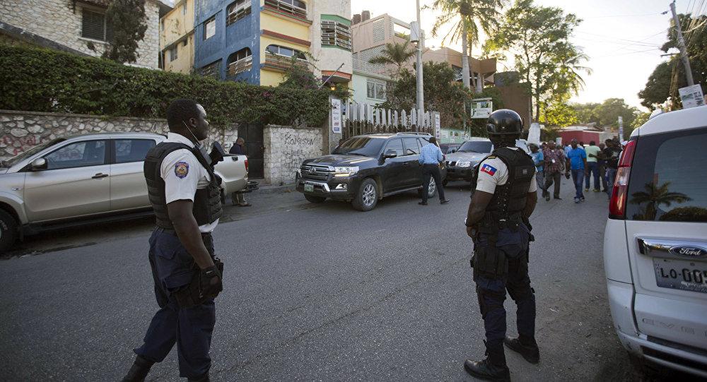 Policía de Haití