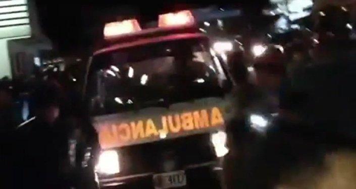 Tragedia en Guatemala: un camión embiste a decenas de personas (fuertes imágenes)