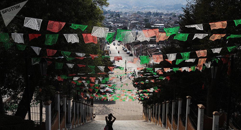 El centro de San Francisco de Campeche