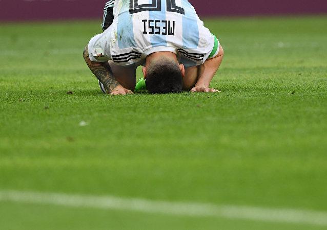 Lionel Messi en Rusia 2018