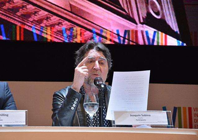 Joaquín Sabina en el Congreso Internacional de la Lengua Española 2019
