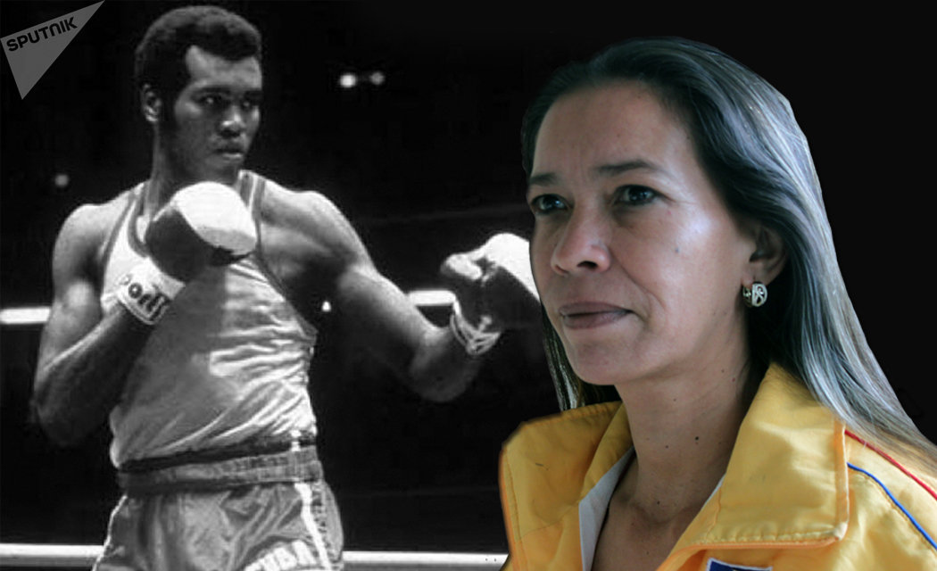 Fraymaris Arias, viuda del tricampeón olímpico y mundial de boxeo Teófilo Stevenson