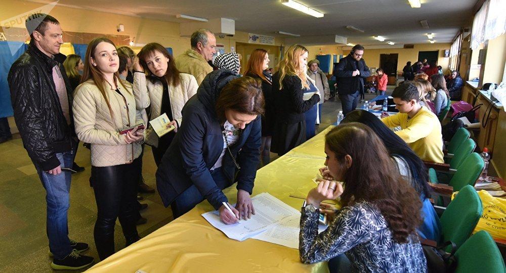 Elecciones en Ucrania