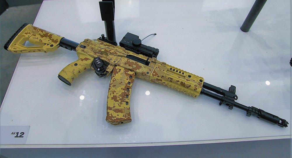 Un Kalashnikov AK-12