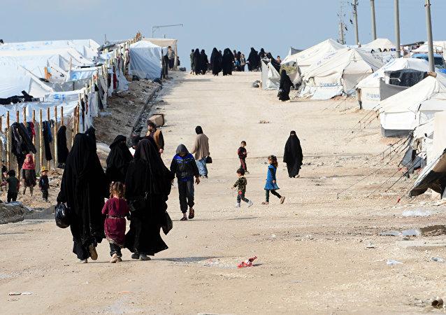 Campamento de refugiados sirio Al Hawl