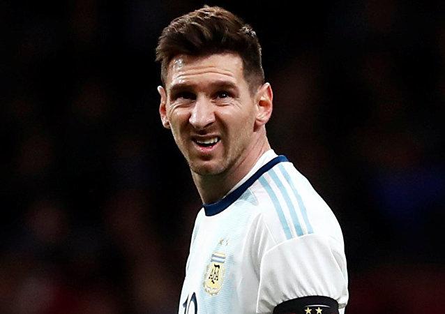 Lionel Messi, futbolista argentino