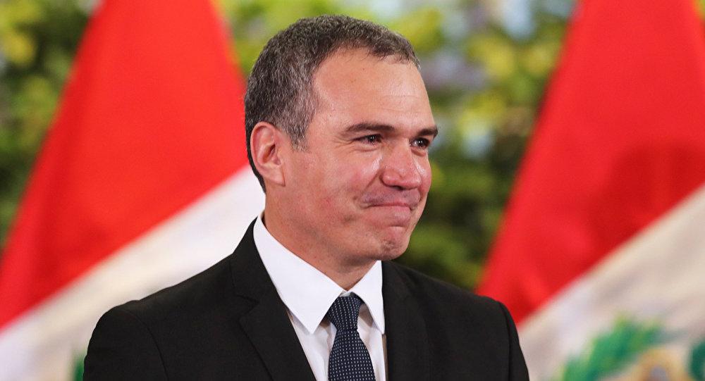 El primer ministro de Perú, Salvador del Solar
