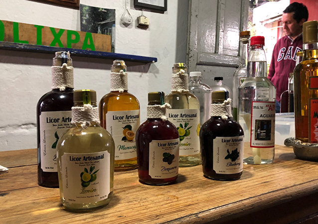 Yolixpa, licor artesanal mexicano