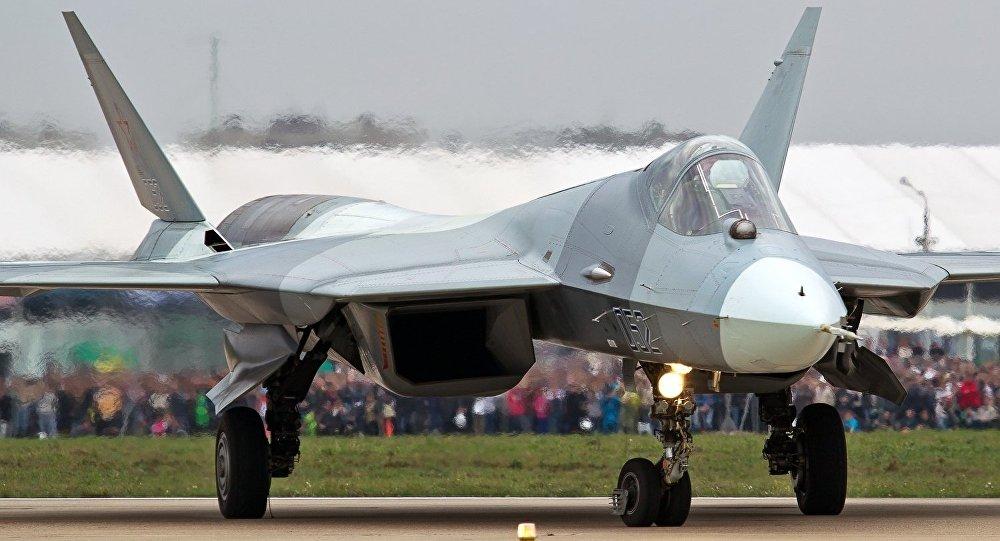 Un caza Su-57