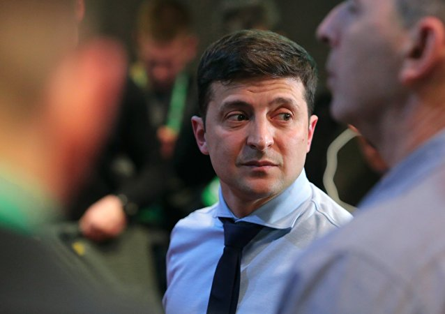 Volodímir Zelenski, el presodente ucraniano