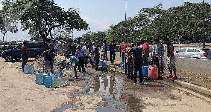 El bombeo de agua requiere buena parte de la electricidad que se consume en Caracas