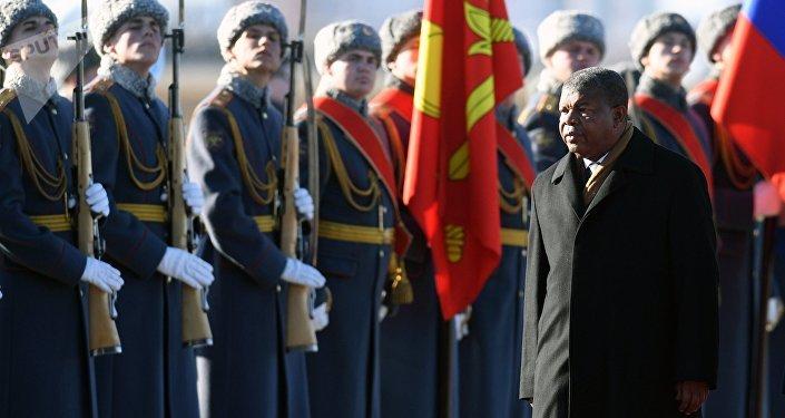 El presidente de Angola, Joao Lourenco