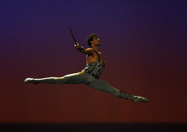 Carlos Acosta, reconocido bailarín cubano