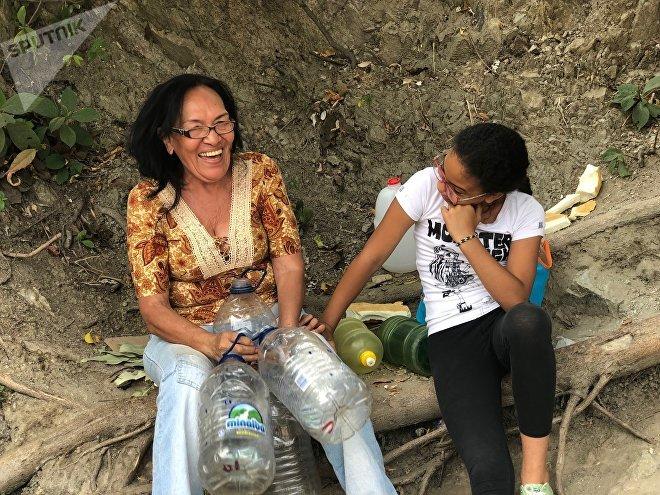 A pesar de las vicisitudes, muchos venezolanos no dejan de sonreír