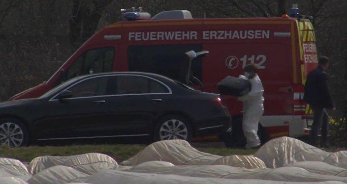 Expertos rusos llegan al lugar del siniestro del avión de la dueña de la aerolínea S7