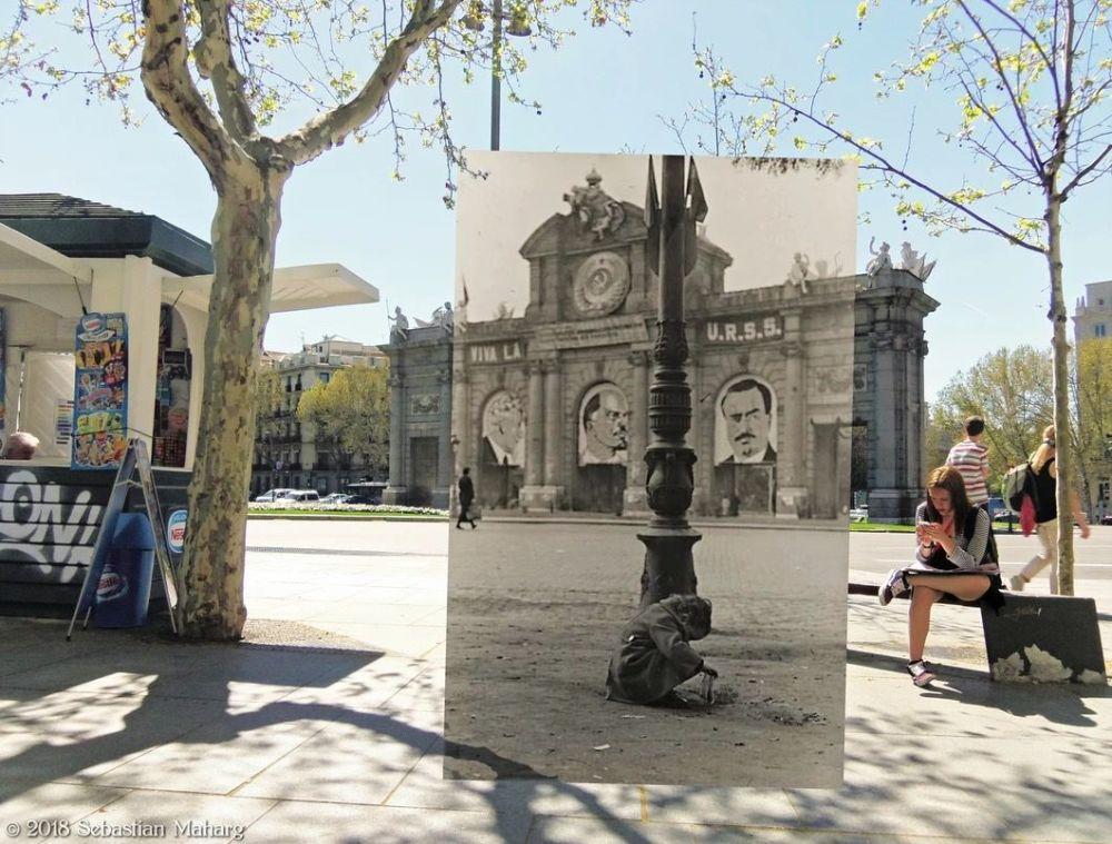 Pasado en paralelo: Madrid 1936-1939