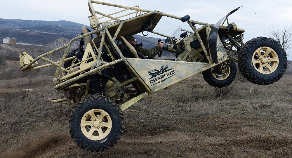 El buggy militar ruso Chaborz M-3