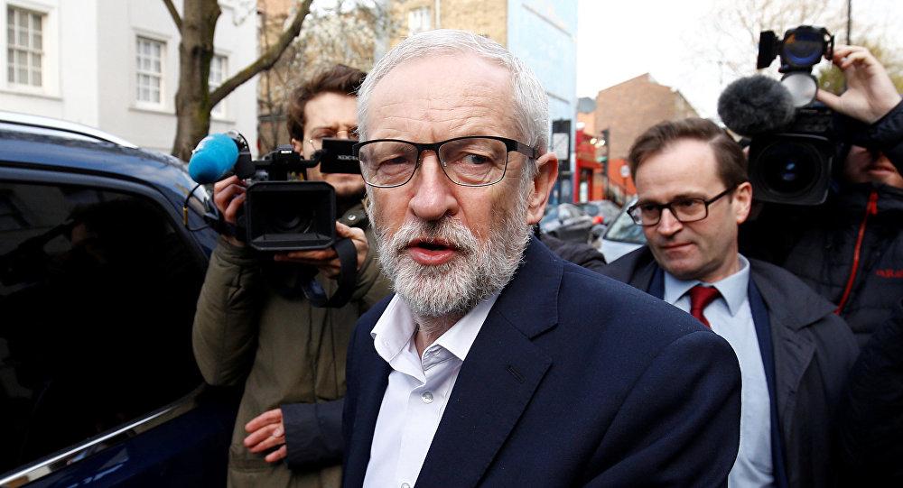 El líder laborista Jeremy Corbyn