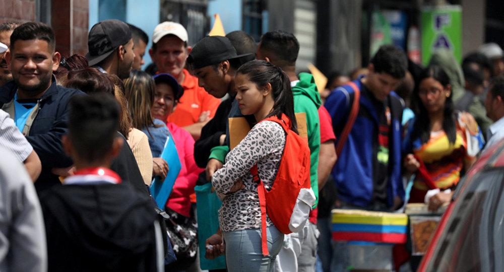 Migrantes venezolanos en Perú (Archivo)