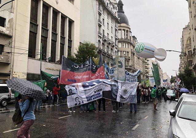 La protesta social aumenta en Argentina