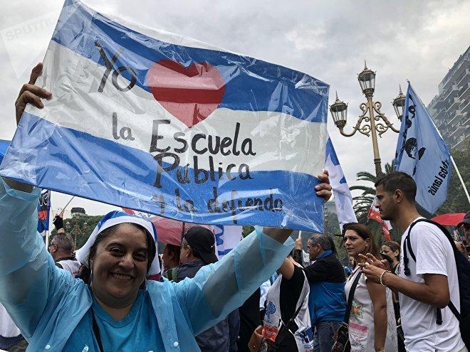 Los argentinos protestaron frente al Congreso por la precaria situación económica del país