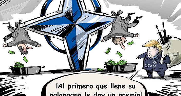 La OTAN, un club de compras de armamento estadounidense