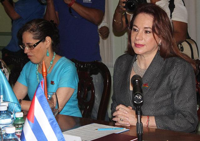 Maria Fernanda Espinosa, presidenta de la Asamblea General de la ONU