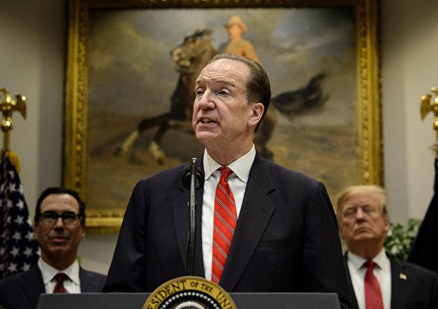David Malpass, ex subsecretario del Departamento del Tesoro de Estados Unidos