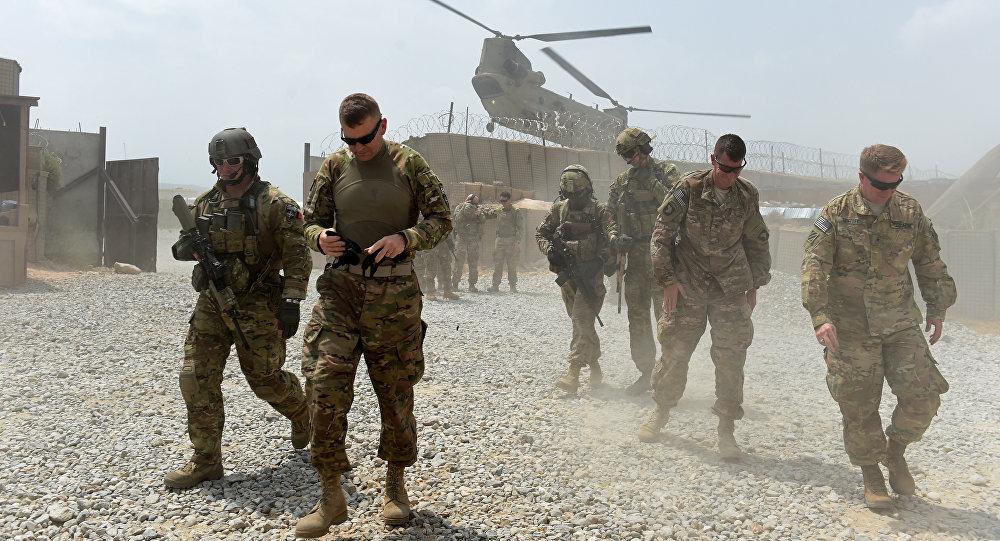 Soldados estadounidenses en Afganistán (archivo)
