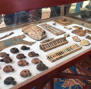 Los hallazgos arqueológicos en una antigua tumba en Egipto (archivo)