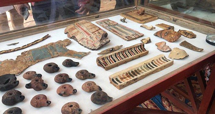 Los hallazgos arqueológicos en una antigua tumba en Egipto
